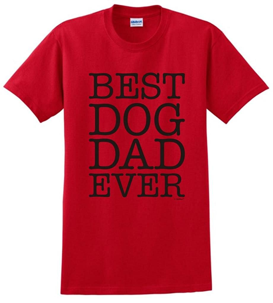 c1f9ab58 Amazon.com: ThisWear Best Dog Dad Ever T-Shirt: Clothing