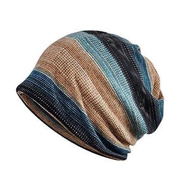 Amazon.com: Escolourful - Bufanda de algodón para hombre y ...