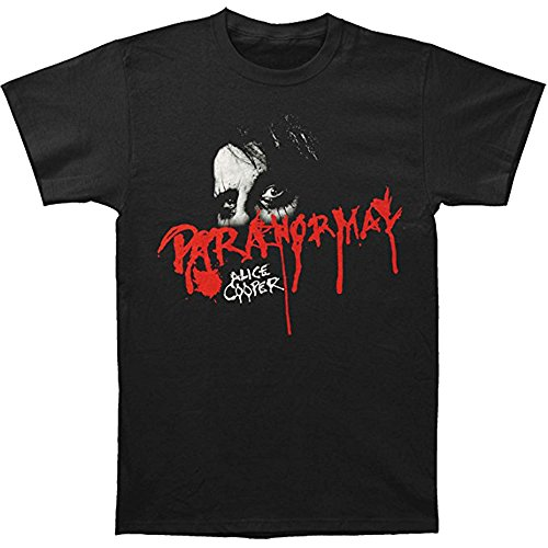 Alice Cooper Men's Paranormal Eyes T-shirt Small Black
