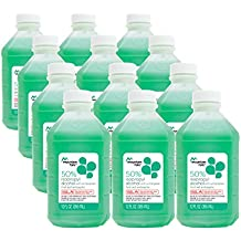 Mountain Falls 50% Isopropyl Alcohol First Aid Antiseptic for Treatment of Minor Cuts and Scrapes, with Wintergreen, 12 Fluid Ounce (Pack of 12)
