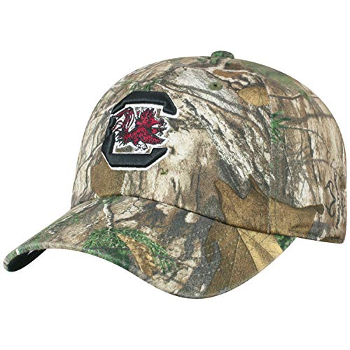 Top of the World South Carolina Fighting Gamecocks Men's Camo Hat Icon, Real Tree Camo, Adjustable