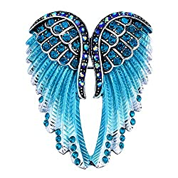 Guardian Angel Wing Brooch Pins