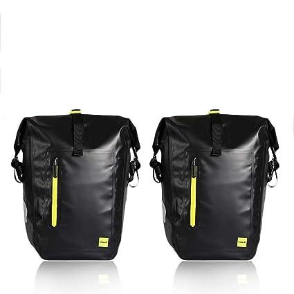 Amazon.com: WATERFLY - Bolsa para sillín de bicicleta, 25 L ...