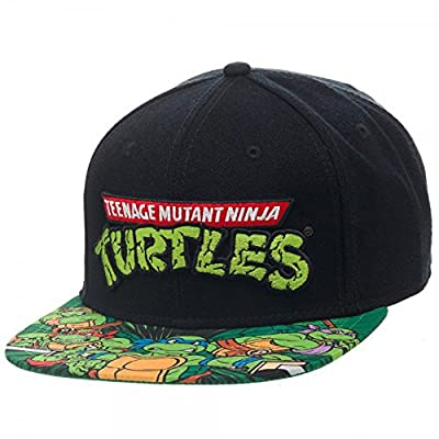 BIOWORLD Teenage Mutant Ninja Turtles TMNT Sublimated Bill Snapback Hat by JBK International
