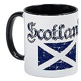 CafePress %2D Scottish Flag Mug %2D Uniq