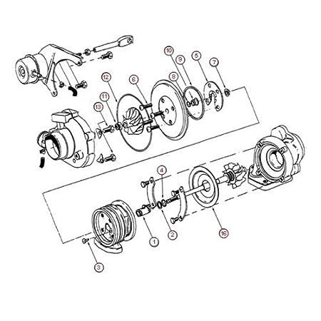 Amazon.com: Turbo Rebuild Kit for 05 Nissan Navara YD25 2.5L with Garrett GT2056V Turbochargers: Automotive