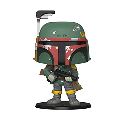 Funko POP! Star Wars 40th Anniversary The Empire Strikes Back #367 - Boba Fett [10 Inch] Exclusive: Toys & Games