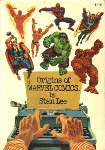 Origins of Marvel Comics [ 1974 ] by Stan Lee (Marvel presents the origins and history of its most famous creations, narrated by Stan (the Man) Lee, Included are the beginnings of The Fantastic Four, The Hulk, Spider-Man, Thor, Dr. Strange)