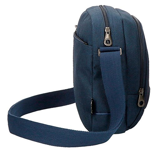 Pepe Jeans Greenwich - Maletín, 24 cm, 2.95 Litros, Azul