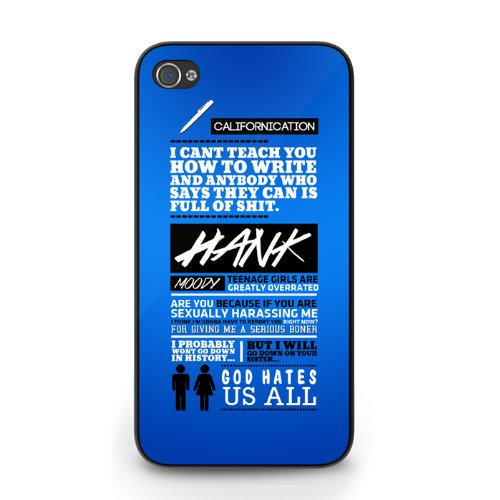 Hank Moody Californication De Frases De Iphone 6 Funda