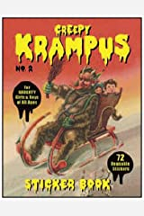 Creepy Krampus Sticker Book No.2: 72 Reusable Stickers for Naughty Girls & Boys of All Ages Paperback