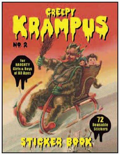 Krampus Sticker Book #2
