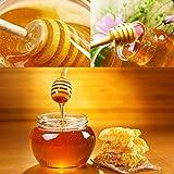 Honey Dipper,Woaiwo-q 3 Inch Small Mini Wooden