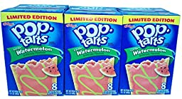 Limited Edition Watermelon Frosted Pop-Tarts 8ct 14.1oz Box (3pk)