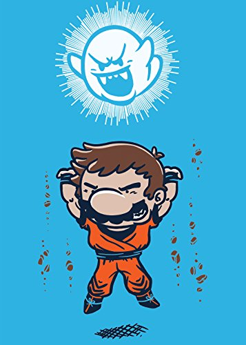 Spirit Bomb Cartoon & Video Game Parody - Rectangle Refrigerator Magnet