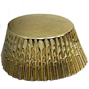 Fox Run Gold Foil Mini Bake Cups, 48 Cups, Garden, Lawn, Maintenance