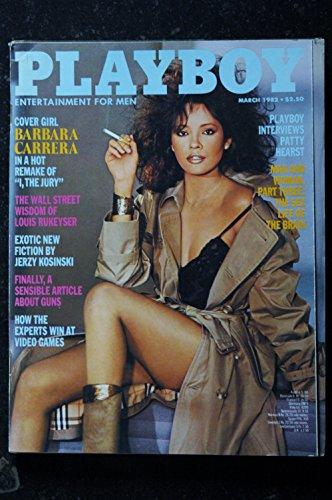 PLAYBOY US 1982 03 MARCH NU MELANIE MARTIN KAREN WITTER BARBARA CARRERA INTEGRAL NUDES