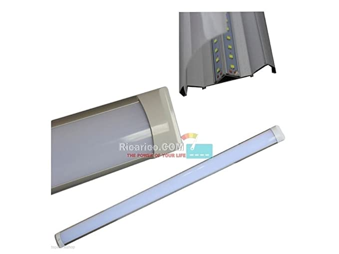 Plafoniera Led 120 Cm : Terryshop applique plafoniera led smd slim soffitto cm
