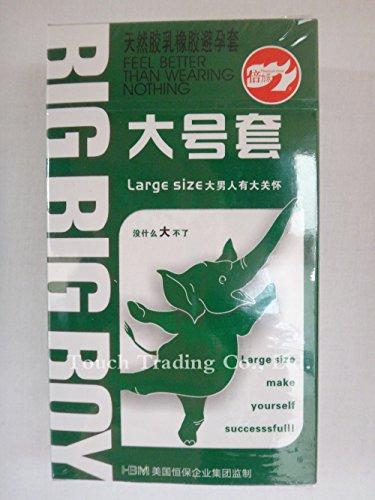 Large Size Big XXL Condom 10PCS Condoms For Big Cock Horny Men Women Adult Game Latex Thin Slim Sex Products