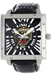 Ed Hardy Men's DE-TG Defender Tiger Watch