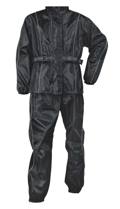 Amazon.com: NEXGEN Hombres Traje de lluvia, Negro: Nex Gen ...