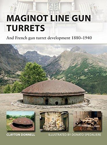 Maginot Line Gun Turrets: And French gun turret development 1880–1940 (New (Military Ordnance)