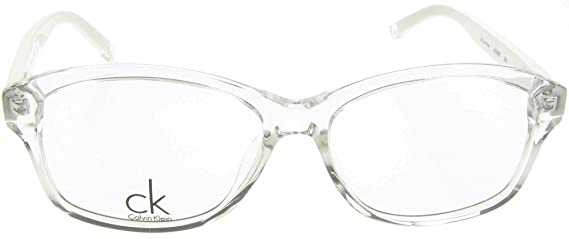 28bbf0534db Authentic CK Calvin Klein White Crystal Eye Reading Glasses. Spectacles  Frames New  Amazon.co.uk  Clothing