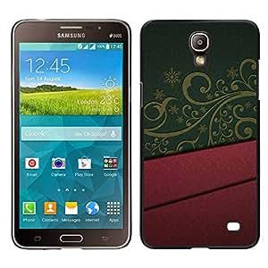 Stuss Case / Funda Carcasa protectora - Design Interior Purple Green Pattern Art - Samsung Galaxy Mega 2