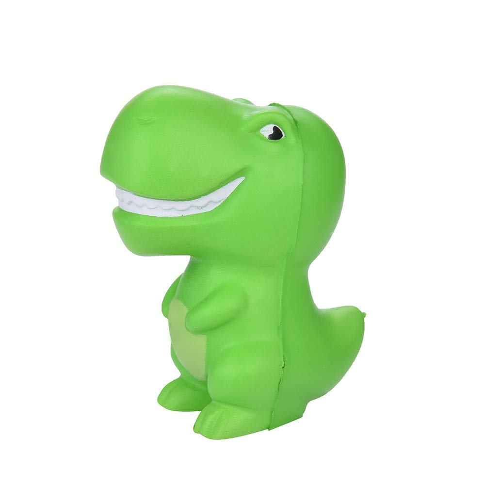 Sunbona❤️ Clearace Squishy Green Dinosaur Scented Super Slow Rising Healing Fun Squeeze Toys Kids Gifts (Green)