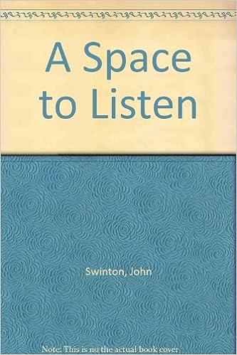 A Space to Listen: Amazon co uk: John Swinton: 9781903645253: Books