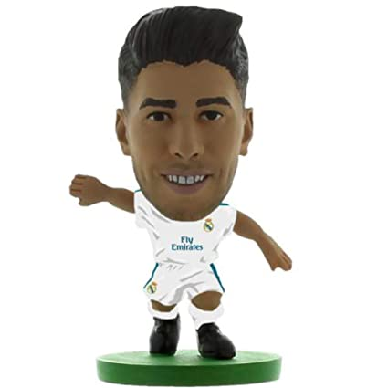9262523d0 Image Unavailable. Image not available for. Color  SoccerStarz SOC1200 Real  Madrid Marco Asensio Home Kit 2018 Version Figure
