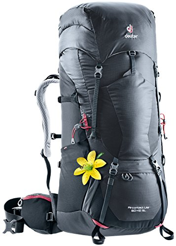 fb147b0aa4 Deuter Aircontact Lite 60+10 SL Backpacking Pack