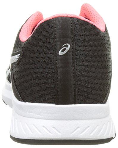 Pour Entraînement Femme black snow Fuzor Sur De Pink Asics Course Route diva Noir Chaussures 8AXvqI