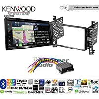 Volunteer Audio Kenwood Excelon DNX694S Double Din Radio Install Kit with GPS Navigation System Android Auto Apple CarPlay Fits 2001-2006 Hyundai Elantra