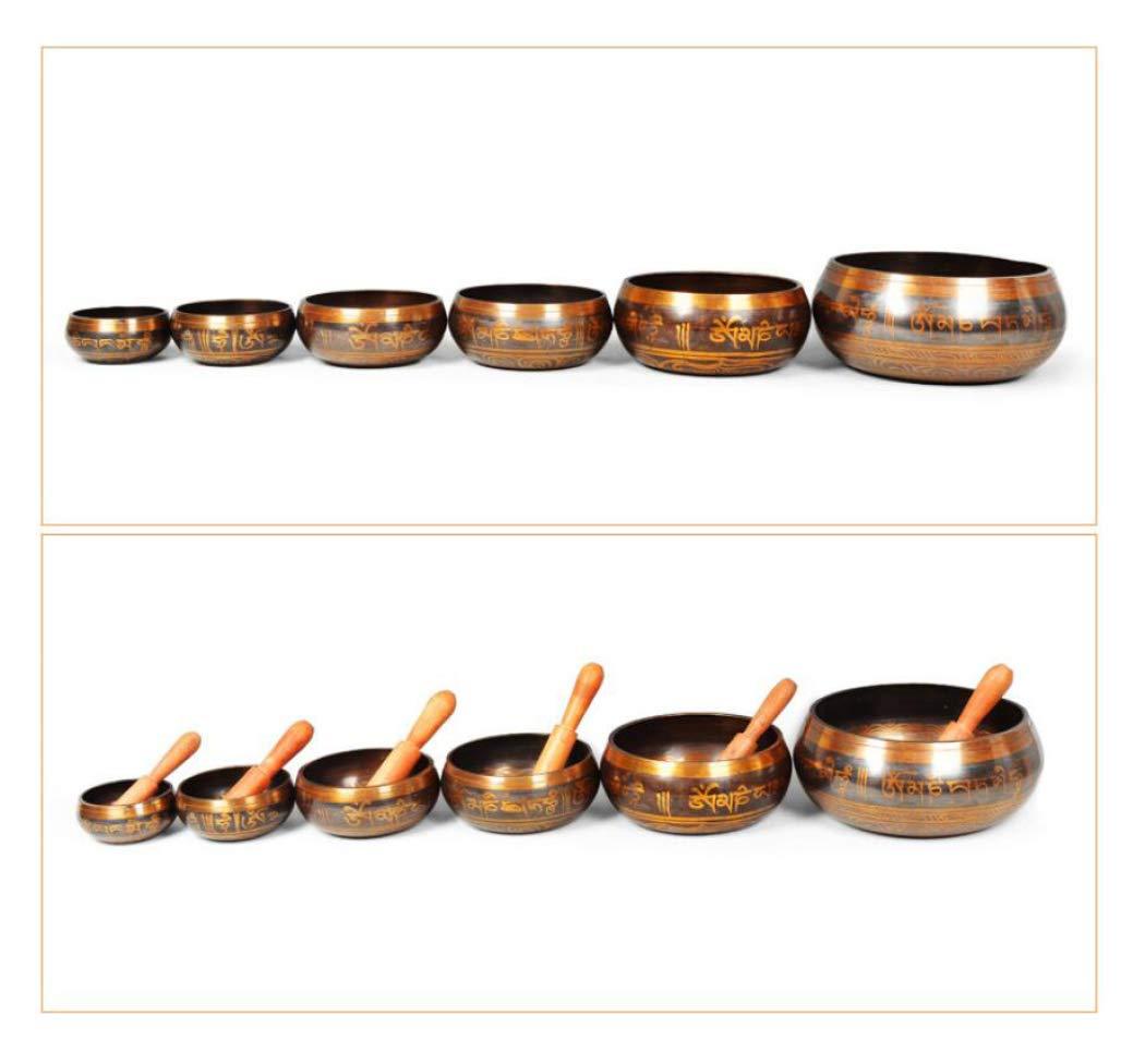 Amazon.com: DPPAN - Juego de cuencos tibetanos para ...
