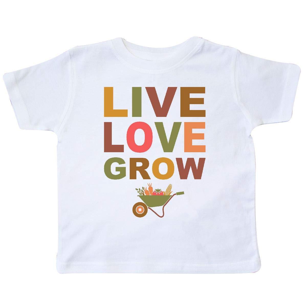 inktastic Live Love Grow Toddler T-Shirt