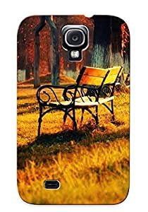 Catenaryoi Faddish Phone Bench In The Park Case For Galaxy S4 / Perfect Case Cover