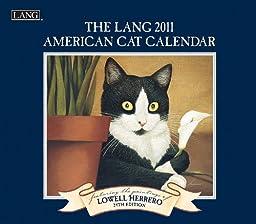 2011 American Cat Calendar