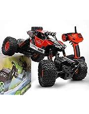 GizmoVine RC Coche Teledirigido Rock Crawler 4WD 2.4GHz Camión de Control Remoto Vehículo Alta Velocidad 1:16 Impermeable Juguete