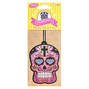 Puckator Day of the Dead Skull Cherry Air Freshener