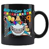 Shark 9 Years Old Mug - Boy 9th Birthday Gift For Kids Coffee Mug 11oz Gift Tea Cups 11oz