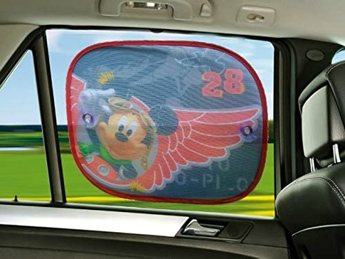 XtremeAuto/® Mickey Mouse de Disney junior Side Car parasol x2/ /Completo con XtremeAuto adhesivo