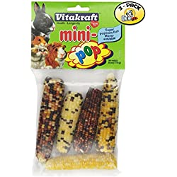 Vitakraft Mini-Pop Small Animal Indian Corn Treats - 3 PACK