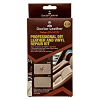 The Most Complete 22 Piece Professional Leather Color Restoration and Repair Kit, 7 Colors Super-Fast Drying with No Heat Required! For Couches, Car Seats, Furniture, Handbags and So Much More!
