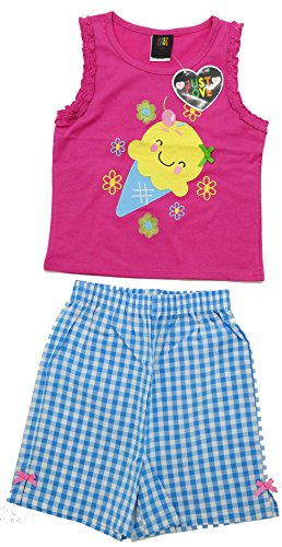 4010-6X Just Love Two Piece Girls Shorts Set - Cute Outfits For Teenage Girls
