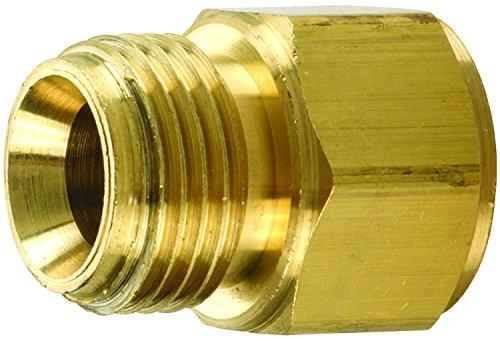 174-0606 Dixon 3//8 Male NPSM x 3//8 Female NPTF Brass Threaded Adapter