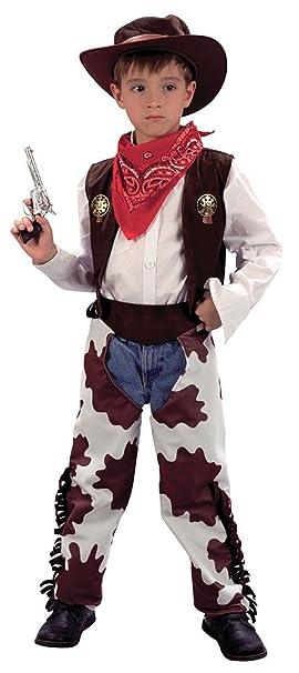Amazon.com: Medium Boys Cowprint Cowboy Costume by Bristol ...