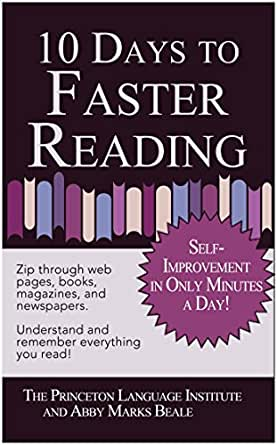 10 Days to Faster Reading: Jump-Start Your Reading Skills with ...