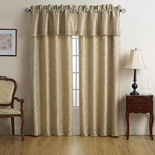Marquis By Waterford Isabella Window, Valance, Gold ()