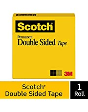 Scotch Permanent Double Sided Tape, 665, 12.7mm x 22.8m